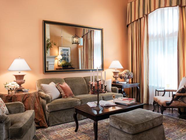 D 39 S Bold Colors Mediterranean Living Room San