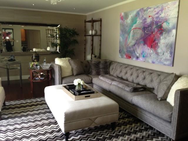 DAHARI DESIGNS contemporary-living-room