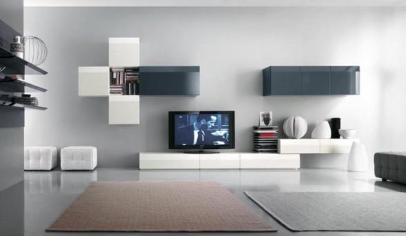 Daisy Provided contemporary-living-room