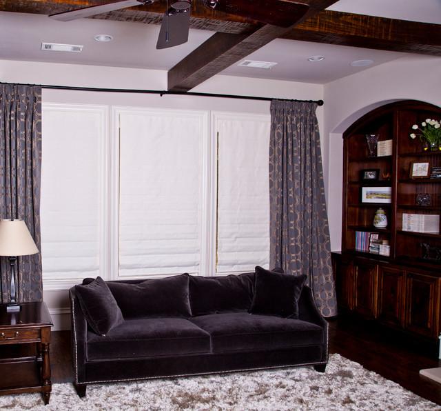 Dallas Contemporary Contemporary Living Room
