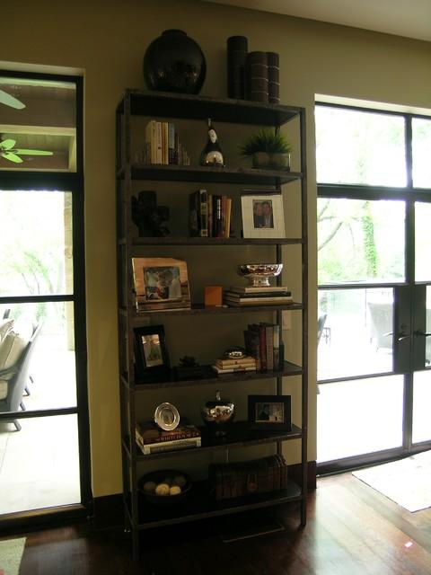 Dallas, Texas contemporary-living-room