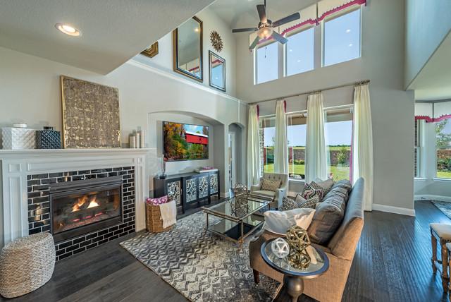 Dallas TX Beazer Homes Communities Contemporary Living Room Dallas