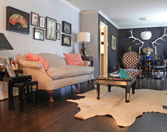 Dallas, TX: Lyndsey & Steve eclectic-living-room