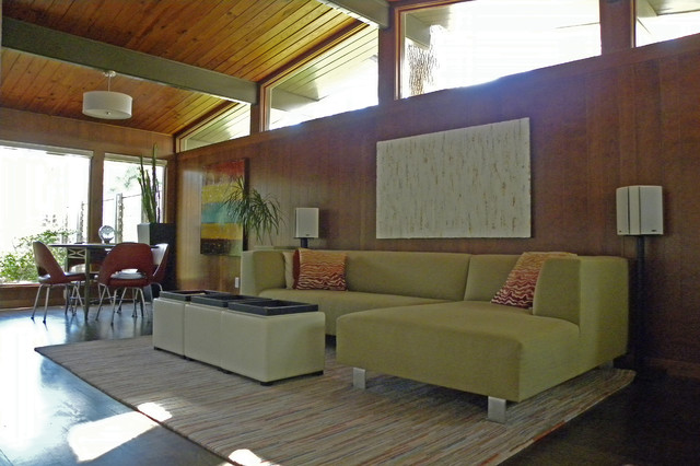 modern living room by Sarah Greenman