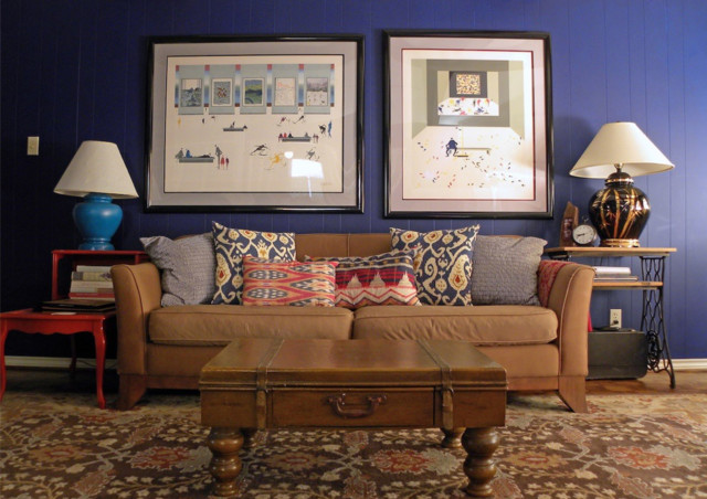 Dallas, TX: My Houzz eclectic-living-room