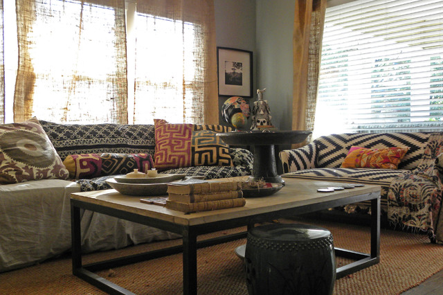 Dallas TX Paige Morse Eclectic Living Room Dallas By Sarah Greenman