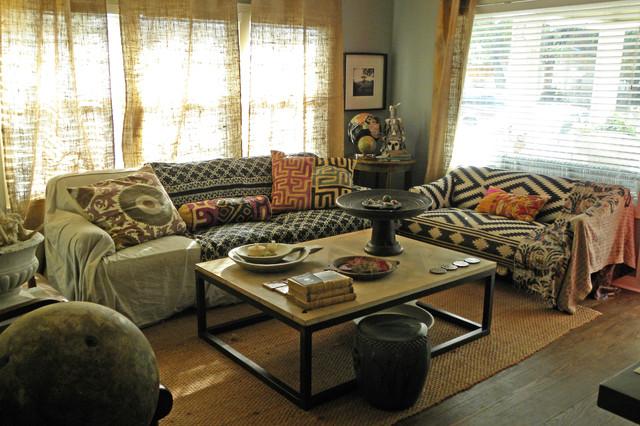 Dallas, TX: Paige Morse eclectic-living-room