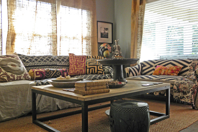 Dallas Tx Paige Morse Eclectic Living Room Dallas