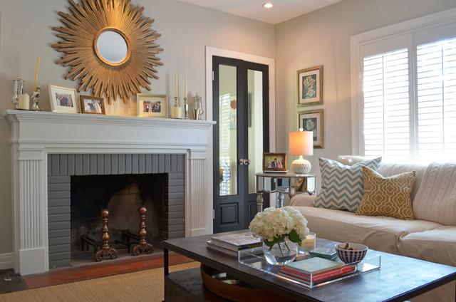 Dallas TX Ross Megan Brown Traditional Living Room Dallas By