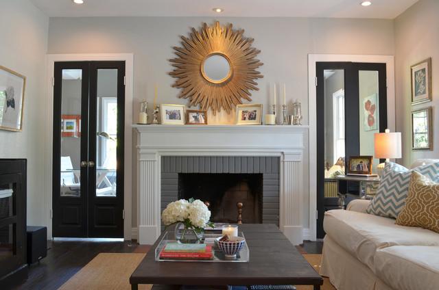 Dallas Tx Ross Megan Brown Traditional Living Room Dallas By Sarah Greenman