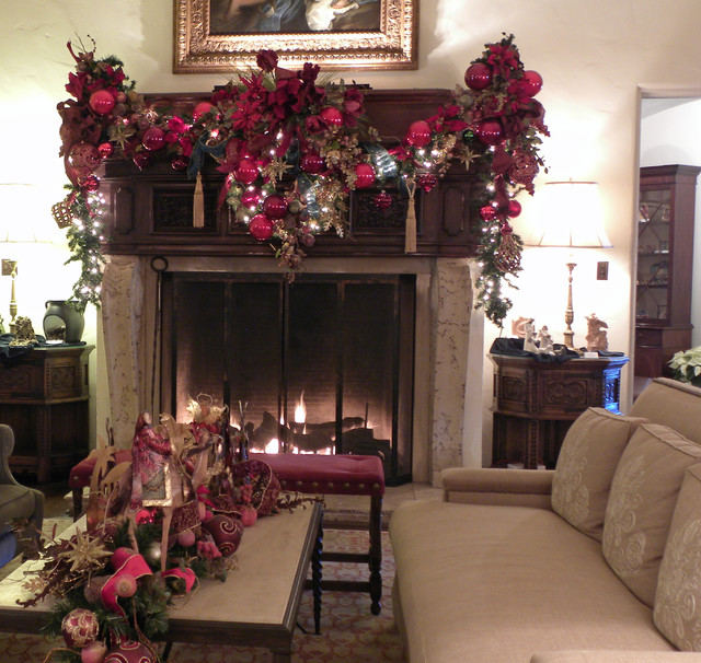 Dallas TX: The DeGolyer Estate traditional-living-room