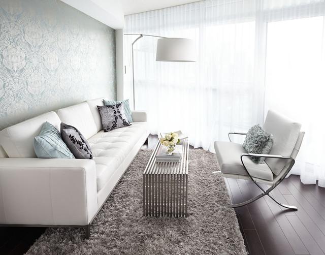 Dan Leckie living room, Interior Design Vancouver contemporary-living-room