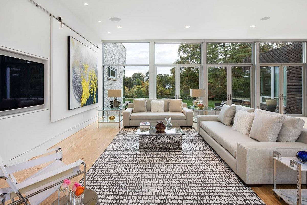 Carrelage Baker Street Blanc 75 beautiful light wood floor living room with a concealed