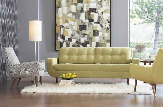 Dania Furniture contemporary living room