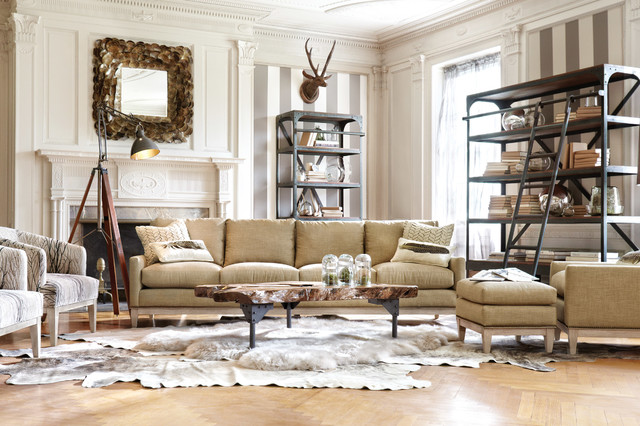 Dante Collection Traditional Living Room By Arhaus