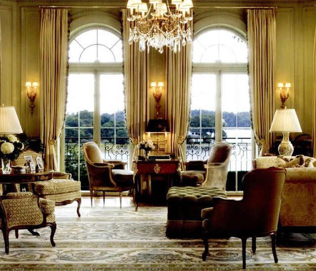 Darien Ct Mansion Traditional Living Room New York By Roubini Rugs