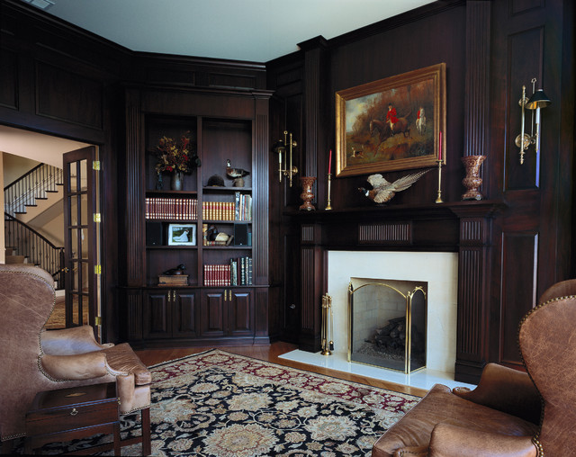 Browse 195 photos of Dark Wood Fireplace Mantel. Find ideas and inspiration for Dark Wood Fireplace Mantel to add to your own home.