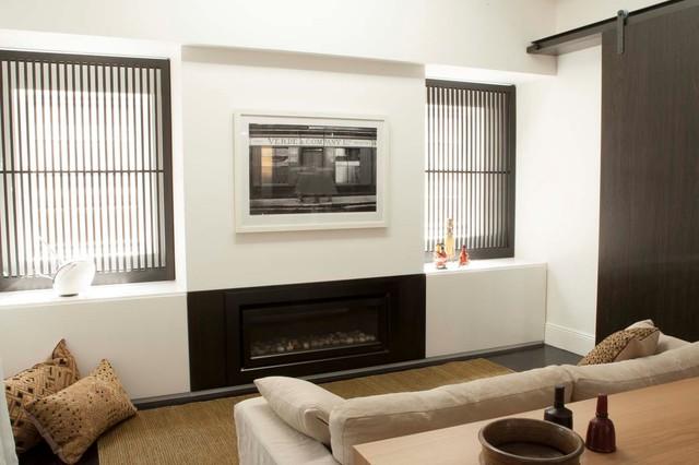 Darlinghurst Apartment Contemporary Living Room