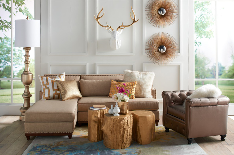 David Bromstad Home by Grandin Road - Eclectic - Living ...