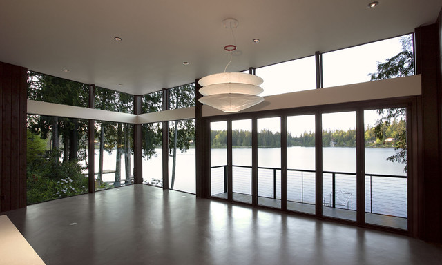 David Vandervort Architects AIA modern-living-room