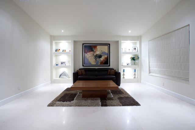 Davie House contemporary-living-room