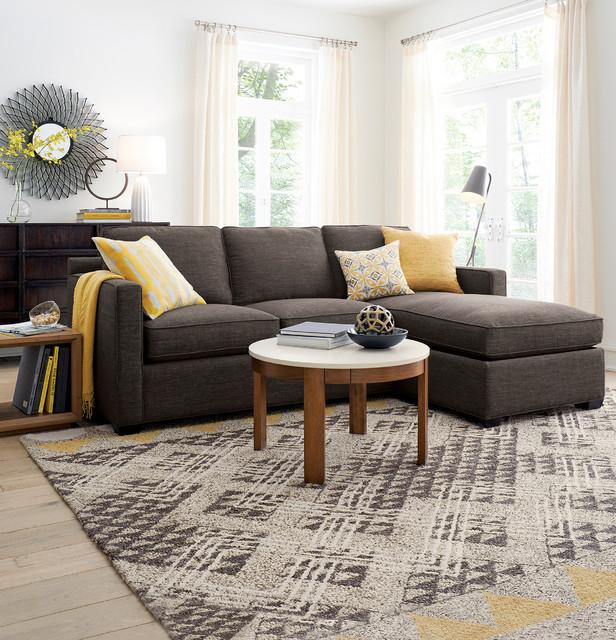 Marvelous Davis 3 Seat Lounger Contemporary Living Room Chicago Inzonedesignstudio Interior Chair Design Inzonedesignstudiocom