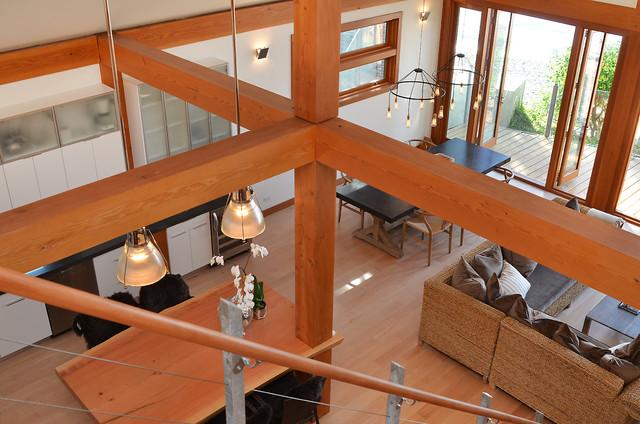 Davis Bay contemporary-living-room