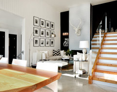 Dawna Jones Design contemporary-living-room
