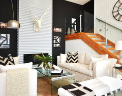 Dawna Jones Design modern living room