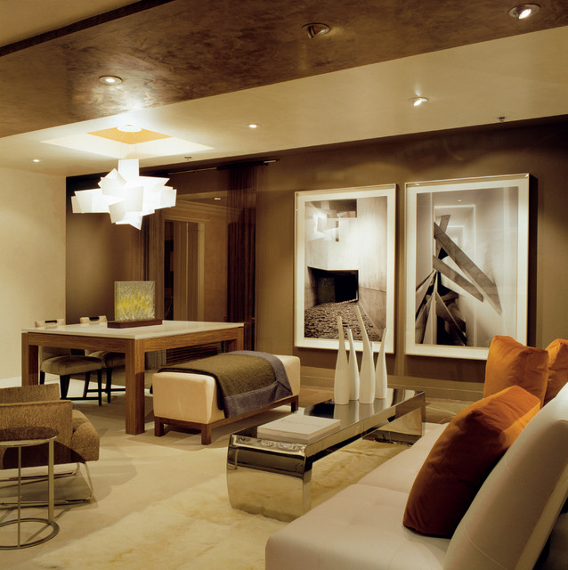 Dc design center show house contemporary living room for Show home living room ideas