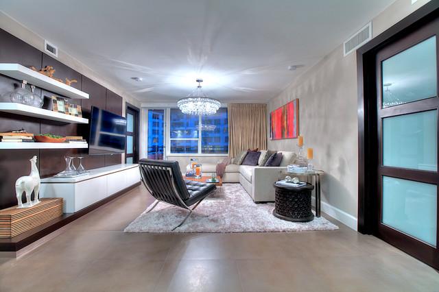 DC  Interiors contemporary-living-room