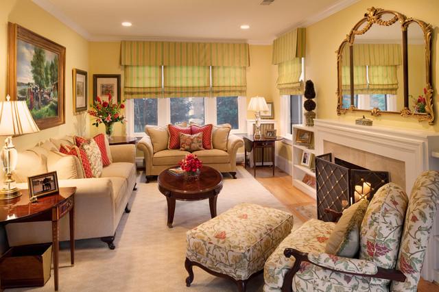 DC Living Room traditional-living-room