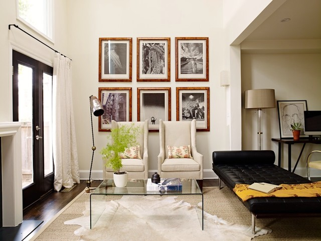 DC Rowhouse eclectic-living-room