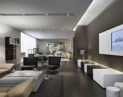 DDC Showroom NYC: 2 contemporary-living-room