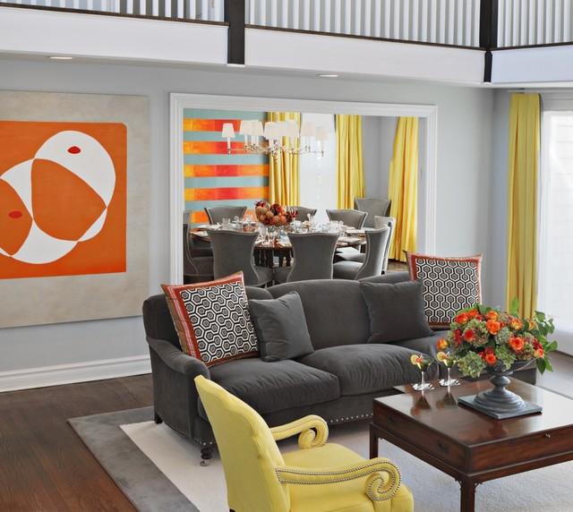 DEAL NJ BEACH HOUSE Beach Style Living Room New