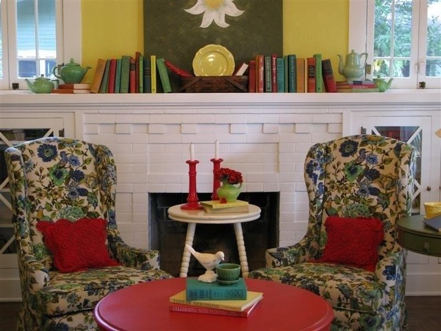 Dear Daisy Cottage- living room eclectic-living-room