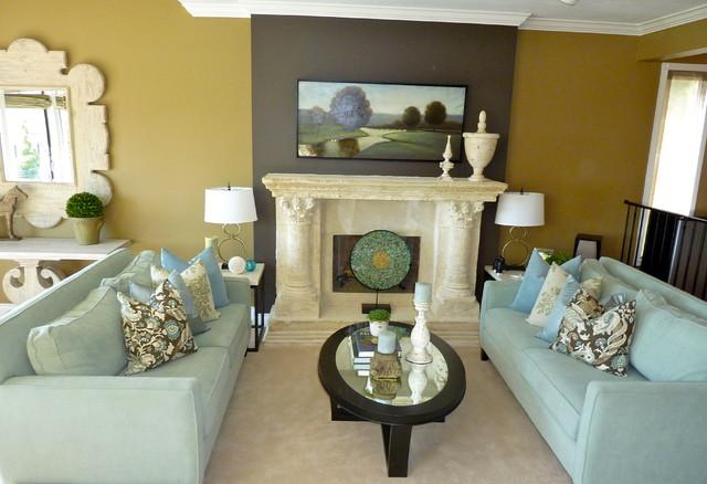 Debbie Etheridge contemporary-living-room