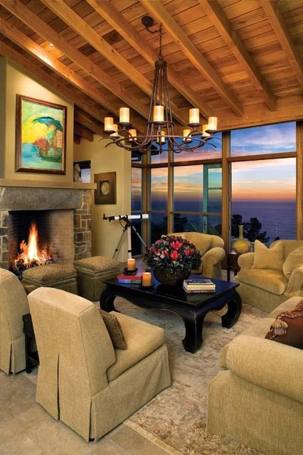 Debra Campbell Design contemporary-living-room