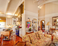 Debra Campbell Design traditional living room