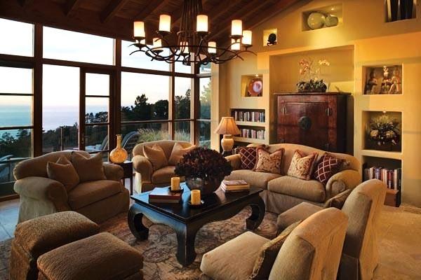 Debra Campbell Design contemporary-living-room
