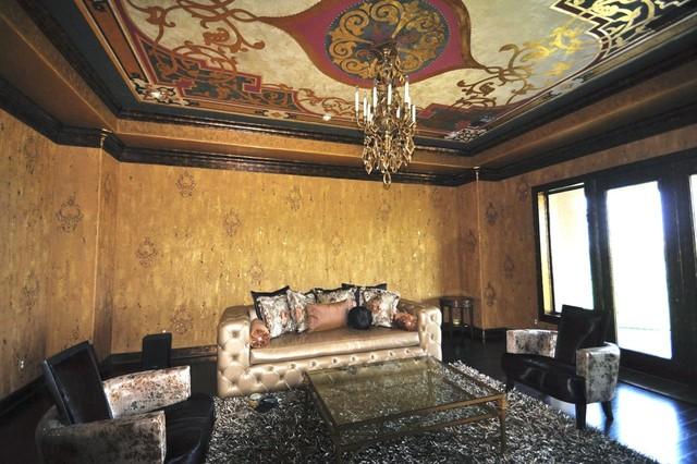Formal Living Room Walls eclectic