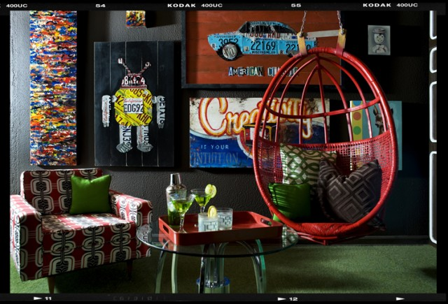 Decor Demon's Loft eclectic-living-room