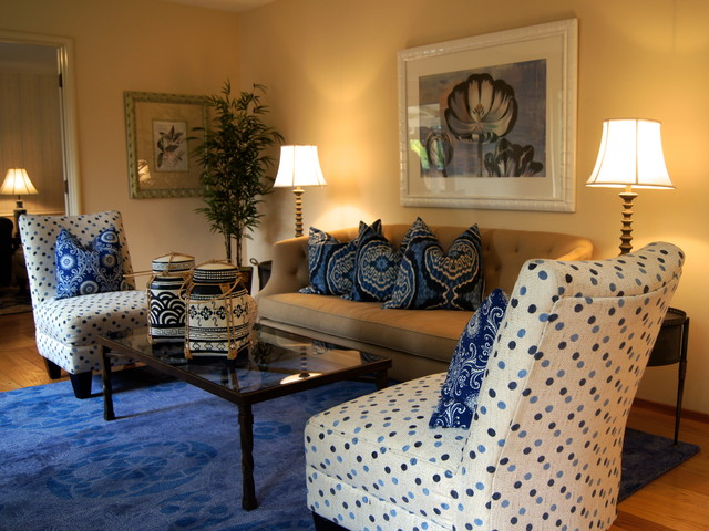 Decorating with chairs from home goods traditional living room san francisco by pillow Home decor home goods