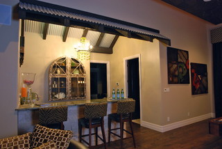 captivating tropical touches living room | Decorative Touches by Stadler Custom Homes - Tropical ...