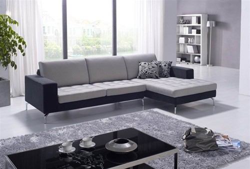 Dekin Two Toned Sectional Sofa 1 349