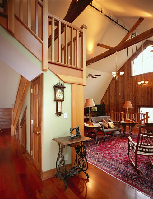 Delavan Lake Barn Renovation traditional-living-room