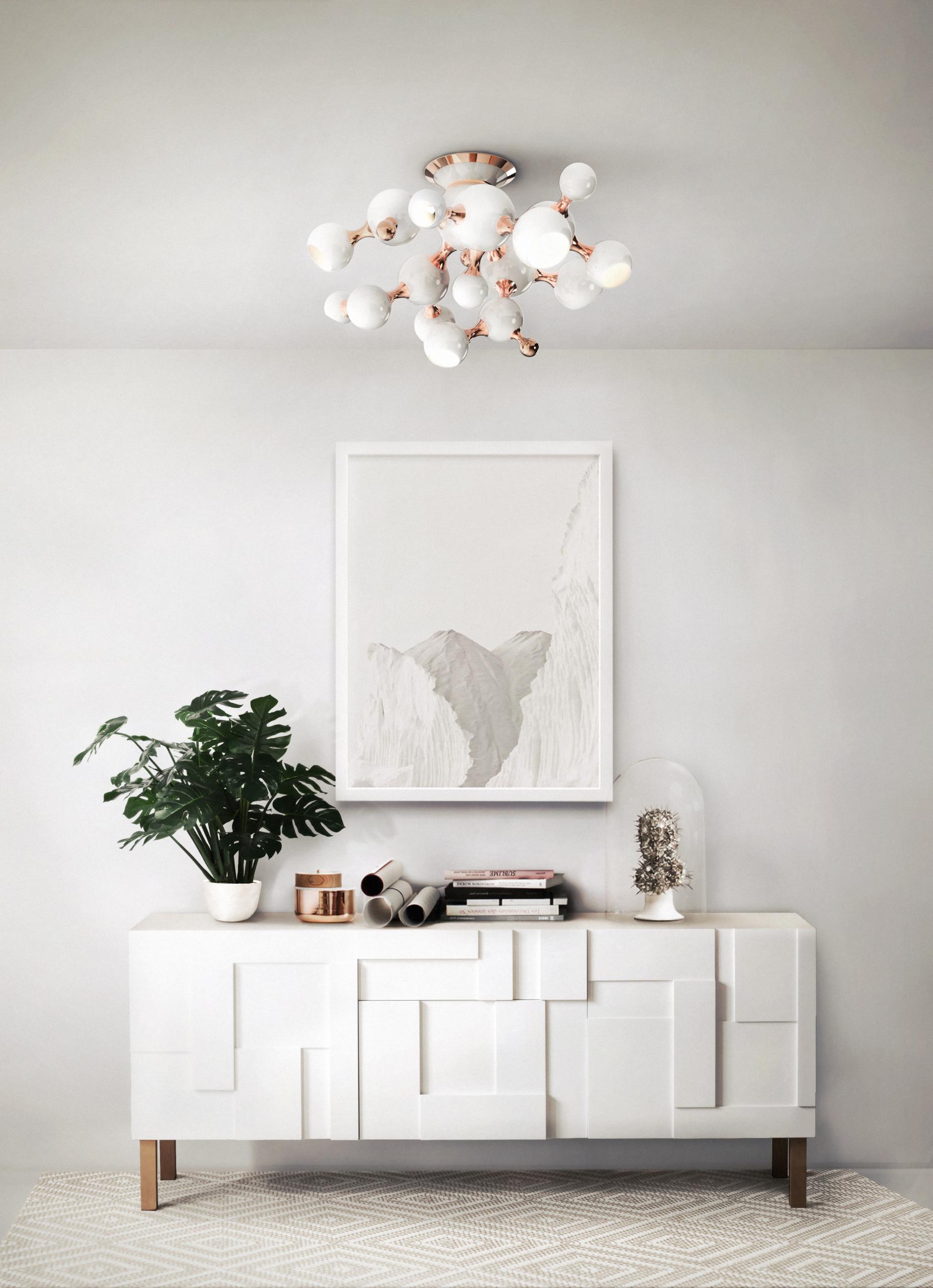 Rose Gold Living Room Ideas Photos Houzz