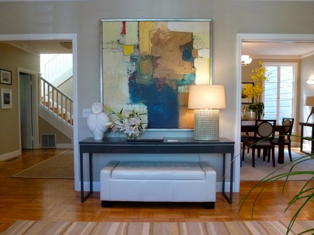 Delmar Street contemporary-living-room