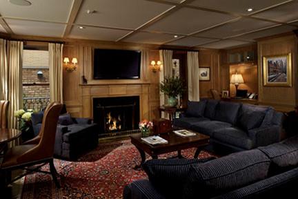 Den contemporary-living-room