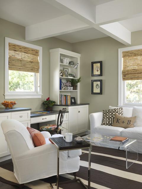 Virtual Design Living Room: Transitional